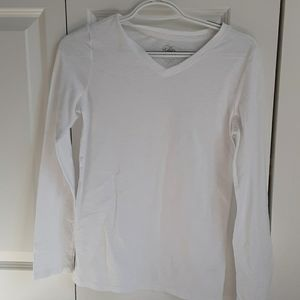 A plain white shirt